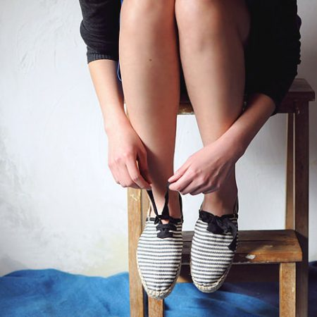 l'espadrille adoptée par Picasso la tuiliere pour sandales concha