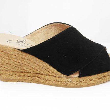 espadrille femme godard noire sandales concha luzespadrille
