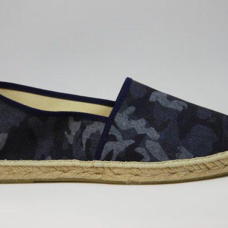 espadrille homme camouflage bleu marine sandales concha pour luzespadrille