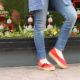 espadrille à volant - luzespadrille - sandales concha